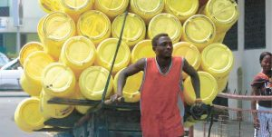 Mombasa water carrier