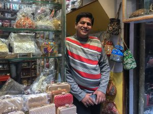 A New Delhi shop keeper has lost 80% of his business due to the crisis